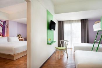MaxOneHotels Sukabumi - Suite with 2 Bedroom Inc Bfast Regular Plan
