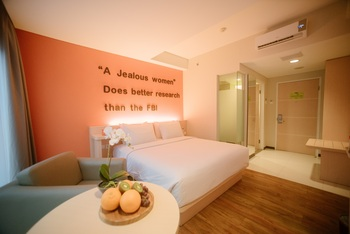 MaxOneHotels Sukabumi - Deluxe (Double Room Only Smoking Room ) Regular Plan