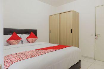 OYO 1242 Aeropolis Apartment Tangerang - Standard Double Room Regular Plan