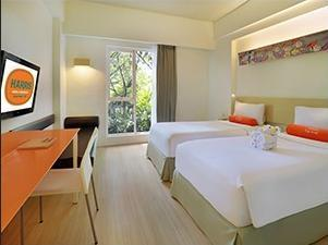 HARRIS Hotel Residences Sunset Road Kuta - HARRIS Room with 1 Breakfast  Deal of The Day