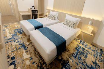 Cordia Hotel Yogyakarta Yogyakarta - Deluxe Twin (Room Only) Regular Plan