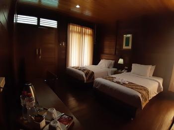 Wisata Edukasi and Resort Kebun Pak Budi Pasuruan - Cottage Kayu Regular Plan