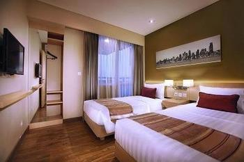 eL Royale Hotel Jakarta - Deluxe Twin Bed With Breakfast Regular Plan