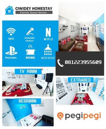 Ciwidey Homestay Bandung - Homestay 2 Kamar Regular Plan