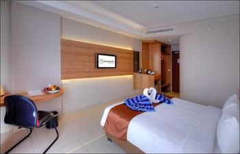 Antero Hotel Jababeka by Prasanthi Bekasi - Deluxe Room Only  Regular Plan