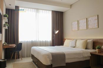 Antero Hotel Jababeka Bekasi - New Deluxe - Room Only Promo Stay Hepi