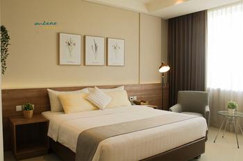 Antero Hotel Jababeka Bekasi - Super Deluxe Room Only Promo Stay Hepi