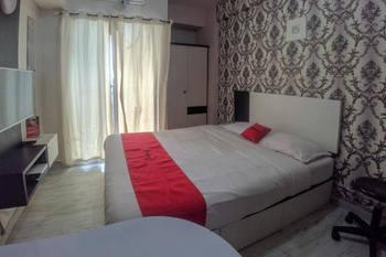 RedDoorz Apartment @ Serpong Greenview 2 Tangerang Selatan - RedDoorz Deluxe Room AntiBoros