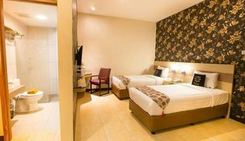 D'Sovia Hotel Bandung - Deluxe Twin Regular Plan