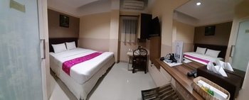 Queen City Hotel Banjarmasin - SUPERIOR KING ROOM ONLY - Flash Sale Flash Sale