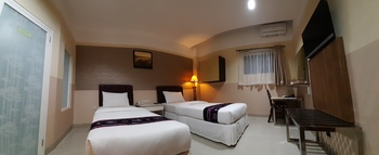 Queen City Hotel Banjarmasin - SUPERIOR TWIN ROOM ONLY - Flash Sale Flash Sale