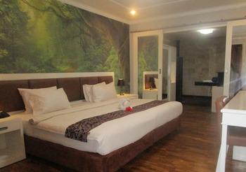 Hotel The Taman Ayu Seminyak - Kamar Deluxe view Kebun Tanpa Sarapan refundable Regular Plan
