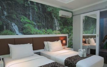 Hotel The Taman Ayu Seminyak - Kamar Deluxe view Kebun dgn Sarapan refundable Regular Plan