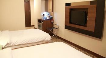 Grand Central Hotel Pekanbaru - Superior twin share without breakfast Regular Plan