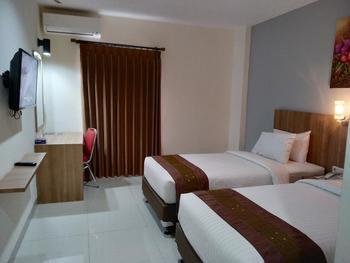 Kanasha Hotel Medan - Kanasha Premier Twin Regular Plan