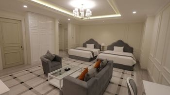 Grand Senyum Hotel Tugu Yogyakarta Yogyakarta - Grand Executive Twin - with Breakfast Promo Safecation