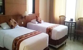 Arnes Central Hotel Bandar Lampung - Superior Twin Bed Regular Plan
