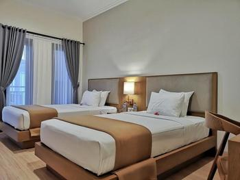 Perissos Echo Beach Bali - Deluxe Twin Room Basic Deal 50%