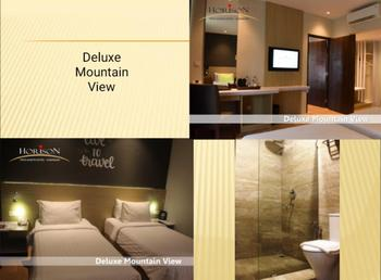Hotel Tirta Sanita Kuningan - Deluxe Mountain View Regular Plan