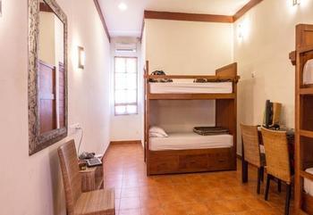 Ecosfera Hotel Bali - Tempat Tidur di Kamar Asrama Campuran dengan 4 Tempat Tidur Regular Plan