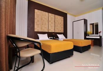 Nan Tongga Beach Hotel Pariaman - Standard Twin Room Regular Plan