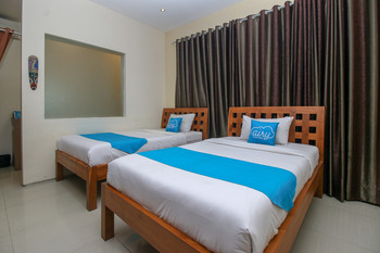 Airy Denpasar Barat Mahendradatta 107 Bali Bali - Deluxe Twin Room Only Special Promo 5