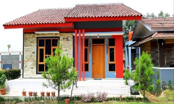 Villa Rasberry Garden Bandung - Villa Biru 3 Bedroom Regular Plan