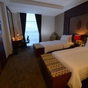 Grand Tjokro Balikpapan - Deluxe Twin Bed Room Only Regular Plan