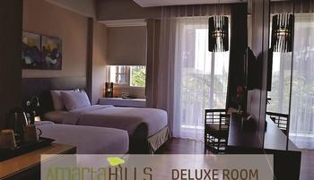 Amartahills Hotel and Resort Batu Malang - Deluxe Twin Room Promo