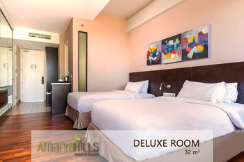 Amartahills Hotel and Resort Batu Malang - Deluxe Twin Room Only Promo 23