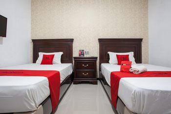 RedDoorz near Taman Krida Budaya Malang Malang - RedDoorz Twin Room Regular Plan