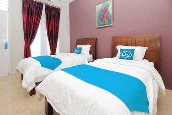 Airy Terminal Beriman Tomohon Tomohon - Deluxe Twin Room Only Special Promo May 33