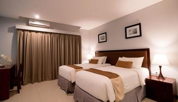 Kutabex Hotel Bali - Deluxe Room - Hanya Kamar #WIDIH - Weekend Promotion Pegipegi Min 2 Night