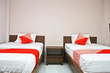 OYO 1020 Pelita Guest House Balikpapan - Standard Twin Room Regular Plan