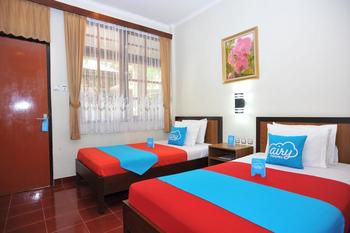 Airy Eco Denpasar Barat Bukit Tunggal 35 Bali Bali - Deluxe Twin Room Only Special Promo May 28