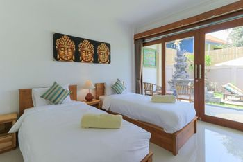 Tarisa Guest House Bali - Deluxe Twin Bedroom Room Only FC Min 3N Stay 30%