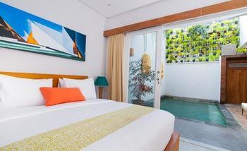 Apple Villa Suite Spa Seminyak Bali - Three Bedroom Villa Regular Plan
