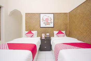 OYO 524 Makuta Hotel Yogyakarta -  Standard Twin Room Regular Plan