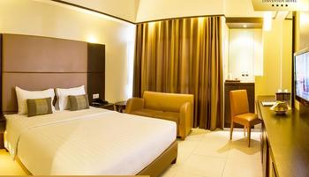 Grand Pasundan Hotel Bandung - Deluxe Double Room Regular Plan