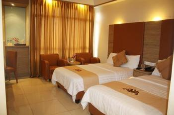 Grand Pasundan Hotel Bandung - Deluxe Twin Room Promo Stay Hepi