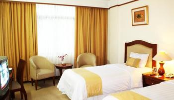 Grand Pasundan Hotel Bandung - Traveller Twin Room Promo Stay Hepi