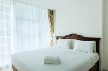 Best Price 1BR Brooklyn Apartment By Travelio Tangerang Selatan - 1 Bedroom 10%
