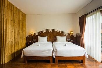 Karang Lila Bhuana Bali - Deluxe Double or Twin Room With Pool View Regular Plan