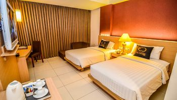 El Cavana Bandung - Superior Twin Room Only Regular Plan