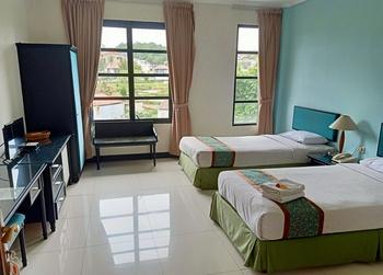 Casa D'Ladera Hotel Bandung Bandung - Deluxe Twin Room Regular Plan