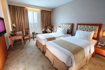 Swiss - Belinn SKA Pekanbaru - Deluxe Twin Room Only Regular Plan