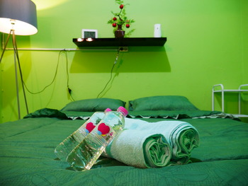 3DI Backpacker Jogja - Private Room with Fan shared Bathroom Regular Plan