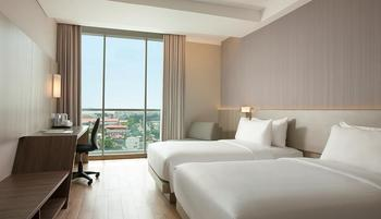 Hotel Santika Radial Palembang - Deluxe Room Twin Offer  Regular Plan