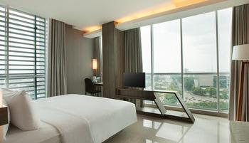 Hotel Santika Radial Palembang Palembang - Deluxe Room King Staycation Offer  Regular Plan