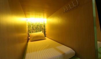MM Capsule Hostel Medan - Ruangan Kapsul Khusus Wanita Discount Special 20%